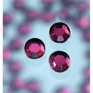 Strasstenar ø 3-5 mm - amethystine 20-pack påstrykes