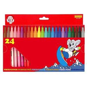 Fiberpennor Sense - 24 pennor