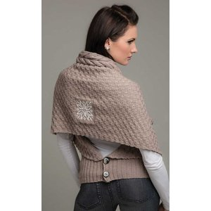 Stickmönster - Kombi-sjal