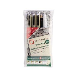 Zentangle Tool - 10 delar
