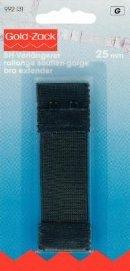 BH-Förlängare som hakar ihop ändarna 25 mm black