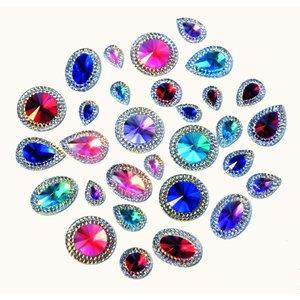 Kristallstenar Deluxe - 100 st