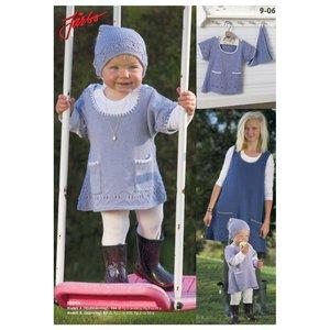 Stickmönster - Västklänning & kortärmad klänning (alt1)
