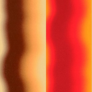 Color-Dekor färgfolie 180 °C 100 x 200 mm - Style orange / brun 2 st Sortiment 1