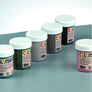 Colorsand blandning - 6 x 50 g 2