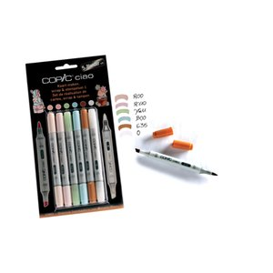 Copic Ciao 5+Blender set - Scrap & stämpelset 1