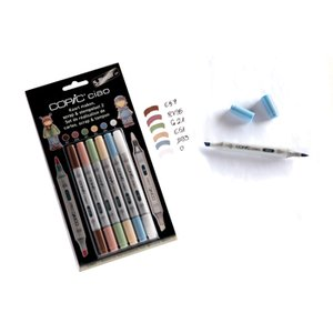 Copic Ciao 5+Blender set - Scrap & stämpelset 2