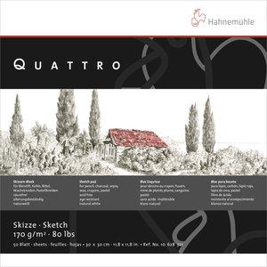 RitblockHahnemühle Sketch Quattro 170g