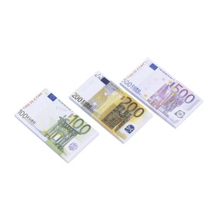 Anteckningsblock - Euro