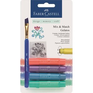 Gelatos Faber-Castell Metallic 4 Kritor