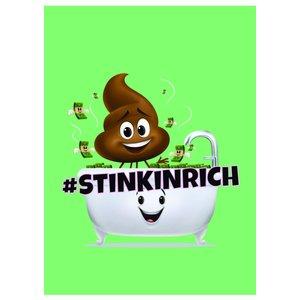 Kollegieblock A4 Rutat - Poop-emoji
