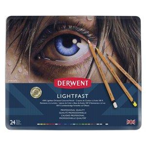 Derwent Ljusfast - 24 Pennor