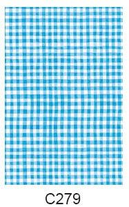 Decopatch-papper (blå-rutigt)