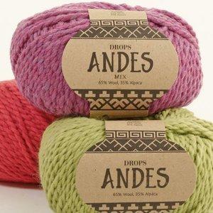 Drops Andes garn - 100g