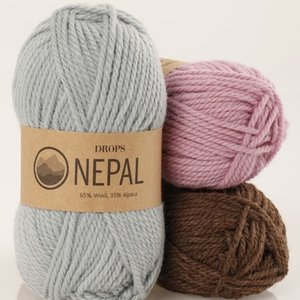 Drops Nepal garn - 50g