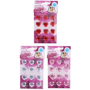 Hjärtstrass - 12-pack