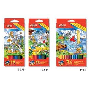 Färgpennor (4 olika set)