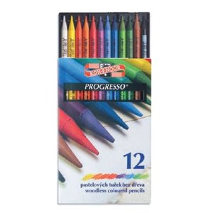 Progresso - träfria färgpennor (set om 12 eller 24st)