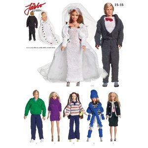 Virkmönster - Barbiekläder