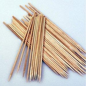 Trästickor 20 cm / ø 2 mm - obehandlat 10-pack spetsig