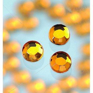Strasstenar ø 3-5 mm - topas 20-pack påstrykes