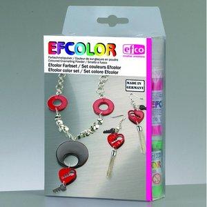 Efcolor färgset - 10 x 10 ml