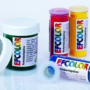 Efcolor - smältpulver 150°C - smältemalj