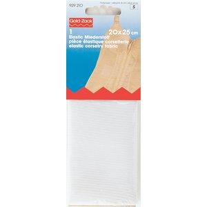Elastisk Korsettextil 20 x 25 cm vit 0