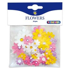 Blommor självhäftande