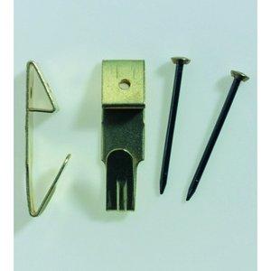 Tavelkrokar 29 mm - 10-pack.