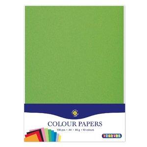 Färgade papper A4