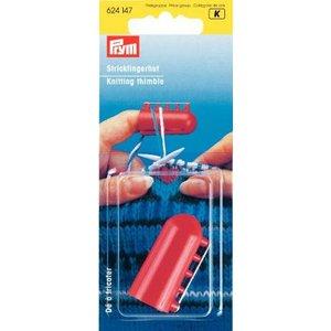 Fingerborg för stickning med 4 garnguider
