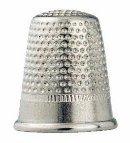Fingerborg stål silverfärg