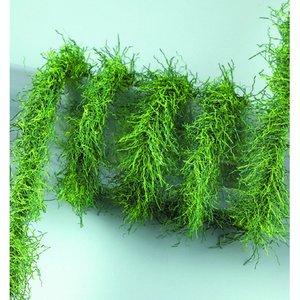 Girlang mini 2 m / ø 2-3 cm - grön mix Gräs