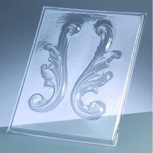 Gjutform - bårder 18 cm