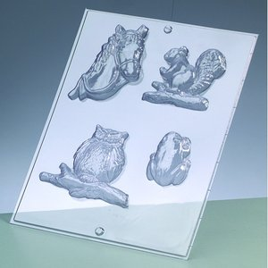 Gjutform - djur 6-8 cm