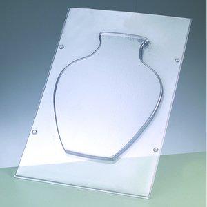 Gjutform - klotformad vas 26 x 20 cm
