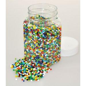 Glaspärlor 500 g bas