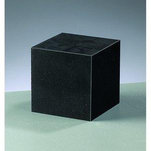 Gummiblock 5 x 5 x 5 cm - svart