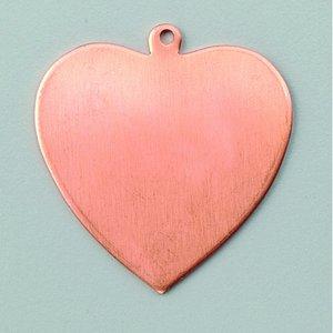 Hängsmycke 36 x 39 mm - hjärta