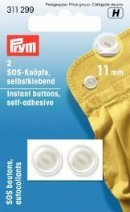 Instant buttons self-adhesive 11mm 2 st