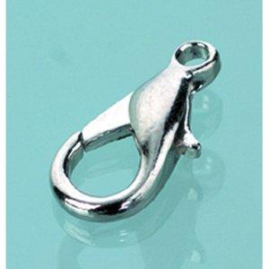 Karbinhake 17 mm - silverfärgad