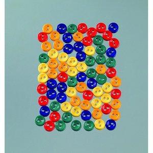 Knappar 7 mm - flera färger 5 g primär