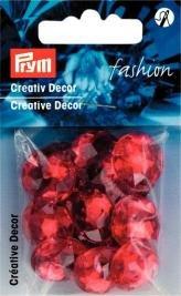 Kreativ Dekor fastsys 18 mm röd 14 st