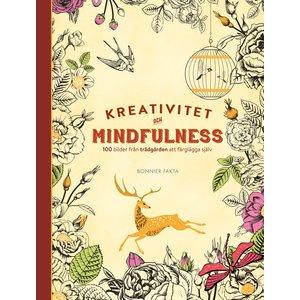 Kreativitet och mindfulness - 100 bilder från trädgården att färglägga själv