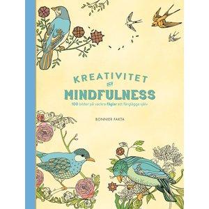 Kreativitet och mindfulness - 100 bilder på vackra fåglar att färglägga själv