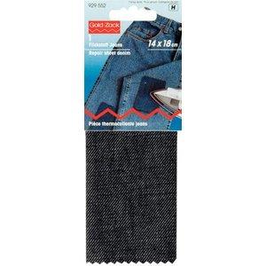 Laglapp denim 14x18cm svart 0