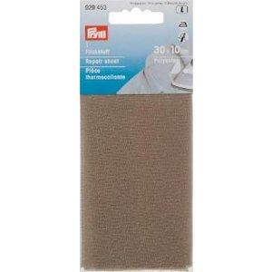 Laglapp (påstrykes) polyest 30x10 grå