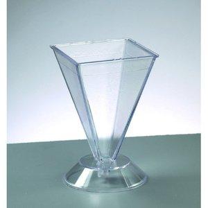 Ljusvas 105 x 67 x 67 mm - pyramid / max. 65 ° C