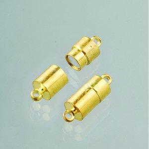 Magnetlås 20 mm - guldpläterad 2 st uttag